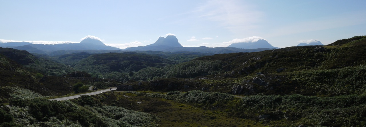 Canisp, Suilven, Cul Mor and Cul Beag